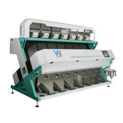 7 Rutschen 448 Kanäle zogen Erdnuss-Farben-Sorter-Maschine von Hefei China ab