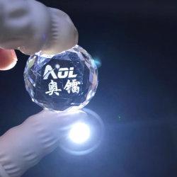 Stampatrice dell'incisione del laser a cristallo della foto 3D del AOL 2D da vendere
