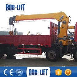 移動式販売のためのトラックによって取付けられるクレーンの油圧6.3トンの価格