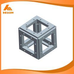 Vis de boîte d'ergot d'aluminium personnalisé Truss coin connecteur Cube