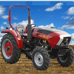 중국 Taihong 상표 작은 조밀한 소형 정원 잔디밭 농업 기계장치 40HP 45HP 50HP 55HP 60HP 4WD 디젤 엔진 농장 트랙터