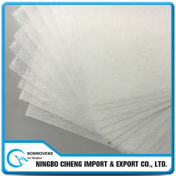 Types tissu non tissé de vente en gros de transporteur de filtre de polyester d'animal familier