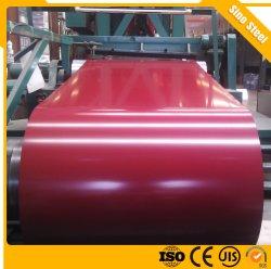 Revestido de color de 0,3 mm Prepainted el recubrimiento de zinc PPGI bobinas de acero