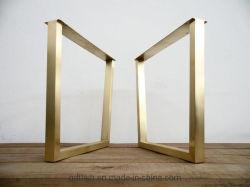 OEM Custom Tabla de metal de las piernas, de la base de la mesa de acero de Metal, Metal marco de la mesa, mesa de comedor piernas