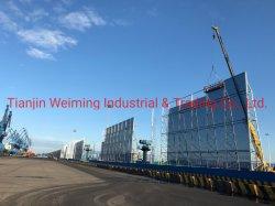 Industrielle Klima-Einstellungs-Funktions-fechtende Stahlwand des Umweltschutz-Sw-Zp017