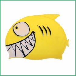 子供のための熱い販売の工場カスタマイズされたシリコーンの水泳の帽子