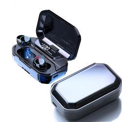 Tws Blue tooth 5.0 Cas de charge de l'écouteur avec LED de puissance basse HI-FI d'affichage 3D stéréo pour casque