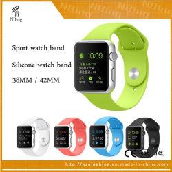 Les sangles de sport de Silicone Watch pour Apple de regarder la bande de la bande 40mm 42mm