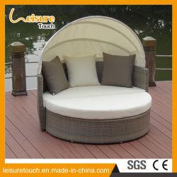 En rotin de loisirs de plein air moderne Jardin meubles de patio lit allongé