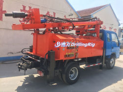 Dfq-200C 트럭 장착형 지하수 광산 회전식 천공 장비