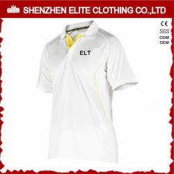 fait sur mesure à bas prix de vente en vrac blanc Maillot de Cricket (ELTCJI-1)