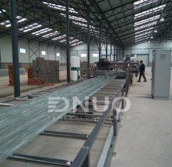 ماكينات صناعة ألواح السقف المصنوعة من الزجاج فائق القوة من الزجاج الليفي