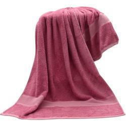 卸し売りカスタム極度の柔らかい無地のテリーのタケ綿の浴室タオルマルチカラードビーの高級ホテルの浴室タオル