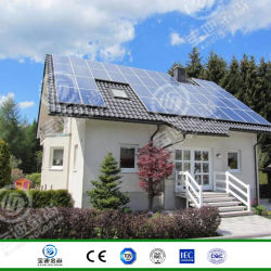 Sur la grille prix d'usine 10kw Accueil Solar Electric Power Systems avec panneau solaire 315W