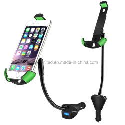 Электромобиль 3 зарядное устройство USB Smart Mobile держатель сотового телефона