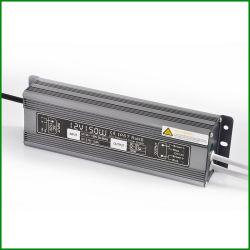Ас с постоянным напряжением 12 В постоянного тока 150 Вт для использования вне помещений IP67 Водонепроницаемый светодиодный драйвер с маркировкой CE RoHS