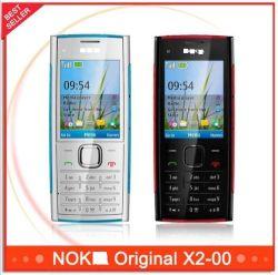 Оригинальные разблокирован X2 Nokya X2-00 Bluetoothfm Java Мобильный телефон с разрешением 5 МП