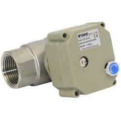 NSF Buena Calidad 1'' de control eléctrico de acero inoxidable de válvula de bola con la Operación manual para el calentador de agua (T25-S2-B).