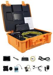 كاميرا فيديو فحص الأنابيب Wopson كاميرا المنظار الصناعية مع مسجل الفيديو الرقمي (DVR)