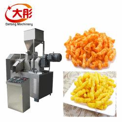 China Cabeça rotativa Canjiquinha Cheetos caracóis de milho frito Niknaks Kurkure Puff Snacks Chips de alimentar o extrusor de tomada de processamento