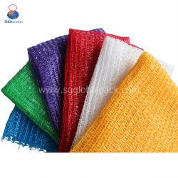 Китай оптовой чеснок лук дров для упаковки пластиковой кулиской PE трикотажные сетки взаимозачет мешок