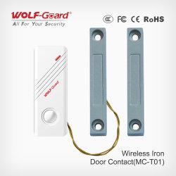 لاسلكيّة مغنطيسيّة باب/نافذة ثغر إتصال محسّ مكشاف /Alarm شريكات