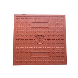 Quadratische Haus-Gebrauch-Entwässerung-dekorativer Plastikabwasserkanal-Einsteigeloch-Deckel der Größen-500X500mm