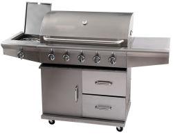 Im Freien Edelstahl Barbecue Möbel BBQ-Gas Grill