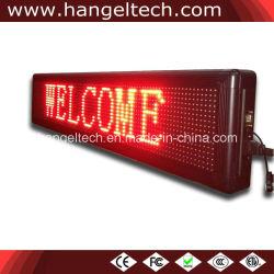 """풀그릴 이동하는 LED 메시지 표시 널 (6 """" X50 """" 16X128에 의하여 점을 찍는다 물 증거, 이동 전화 통제)가"""