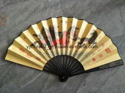 De PromotieVentilator van uitstekende kwaliteit van de Hand van het Bamboe van de Zomer Draagbare Mooie Vouwende