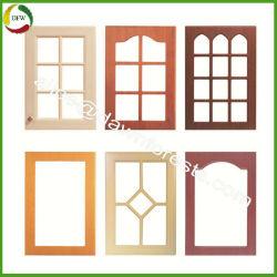Portello dell'armadio da cucina del MDF della membrana del PVC per la mobilia di disegno della cucina