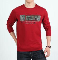 면 둥근 목 남자 t-셔츠를 인쇄하는 형식 디자인