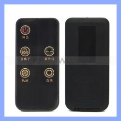 Hersteller Soem-Schwarzes 5 Kyes IR Fernsteuerungsventilator Fernsteuerungs