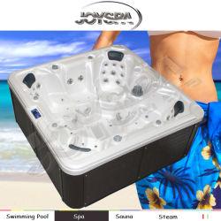 7 Человек Азии SPA Массажные крышки горячая ванна с джакузи с Pop-up TV