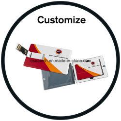 사용자 지정 명함 USB 플래시 메모리 신용 카드 USB 플래시