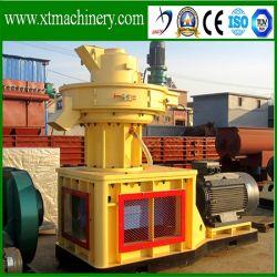 Capacité de 3 à 4 tonnes/h, 3 en appuyant sur machine à granulés de la biomasse de rouleau