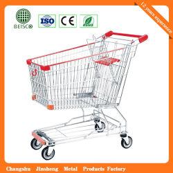 125L 여분 수용량 금속 Aisan 디자인 쇼핑 카트 (JS-TAS04)