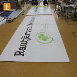 Огнестойкий плакатный с подсветкой ПВХ пластика с гибкой рамой для использования вне помещений висел флаг баннер
