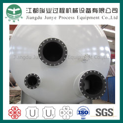 Rubber Lining (V132)를 가진 Asme Filter Pressure Vessels