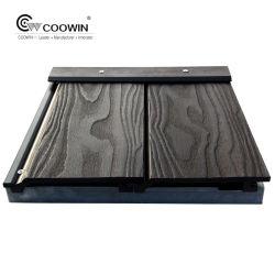 Cabinet 3D'entrepôt de grain du bois de gaufrage WPC Gazebo décoratifs Outdoor insonorisées revêtement de mur extérieur