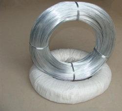 Galvanizado en caliente electro/alambre de hierro delgado