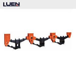 Luen の半トレーラーの自動トラックの部品 3 アクスルアメリカの葉のばね 中国メーカーのサスペンショントレーラー部品