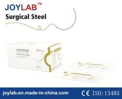 吸収性の外科縫合線の外科鋼鉄