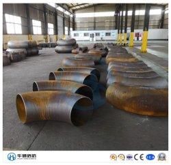 90 grau Raio Longo Sch40 tubo de aço carbono sem costura Cotovelo de montagem