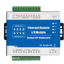 Convertisseur de Modbus pour enregistreur de données Modbus Ethernet