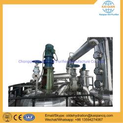 Huile moteur usée Raffinage du pétrole de la régénération d'huile de base de la machine
