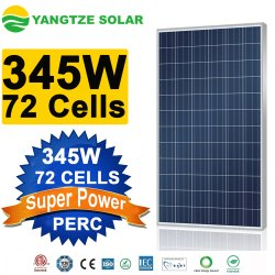 Jangtse Poly 345 W Solarpanel-Reinigungsgerät Komplett