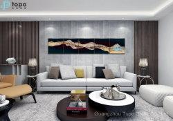 Arte moderno de la imagen de la decoración abstracta Pintura de aceite para el hotel la decoración de pared (MR-YB6-2036)