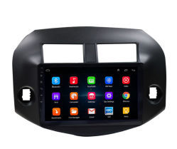 Percorso Android di GPS dell'automobile con il giocatore di Multilmdedia per Toyota RAV4