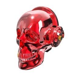 En forme du crâne de cadeaux créatifs enceinte sans fil Bluetooth® Portable avec kit mains libres Mic FM